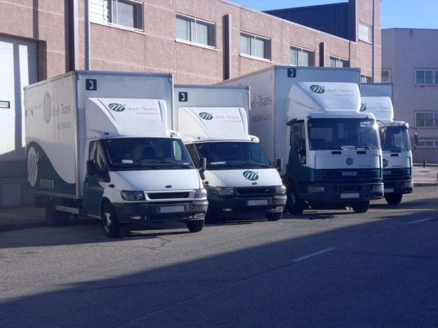 Camiones de carga para mudanzas
